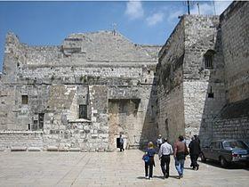Basilique de la Nativité, Bethléem © Wikimedia commons
