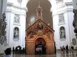 La Portioncule, basilique Sainte-Marie-des-Anges, Assise (Italie) © wikimedia commons