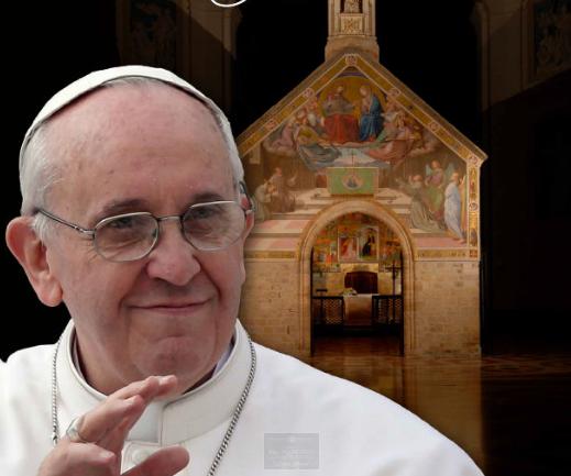 Pèlerinage du pape à Assise, 4 août 2016