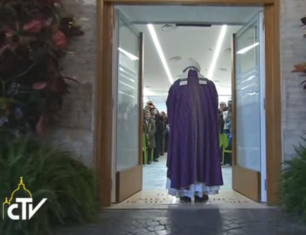 Ouverture de la Porte Sainte de la Charité © CTV