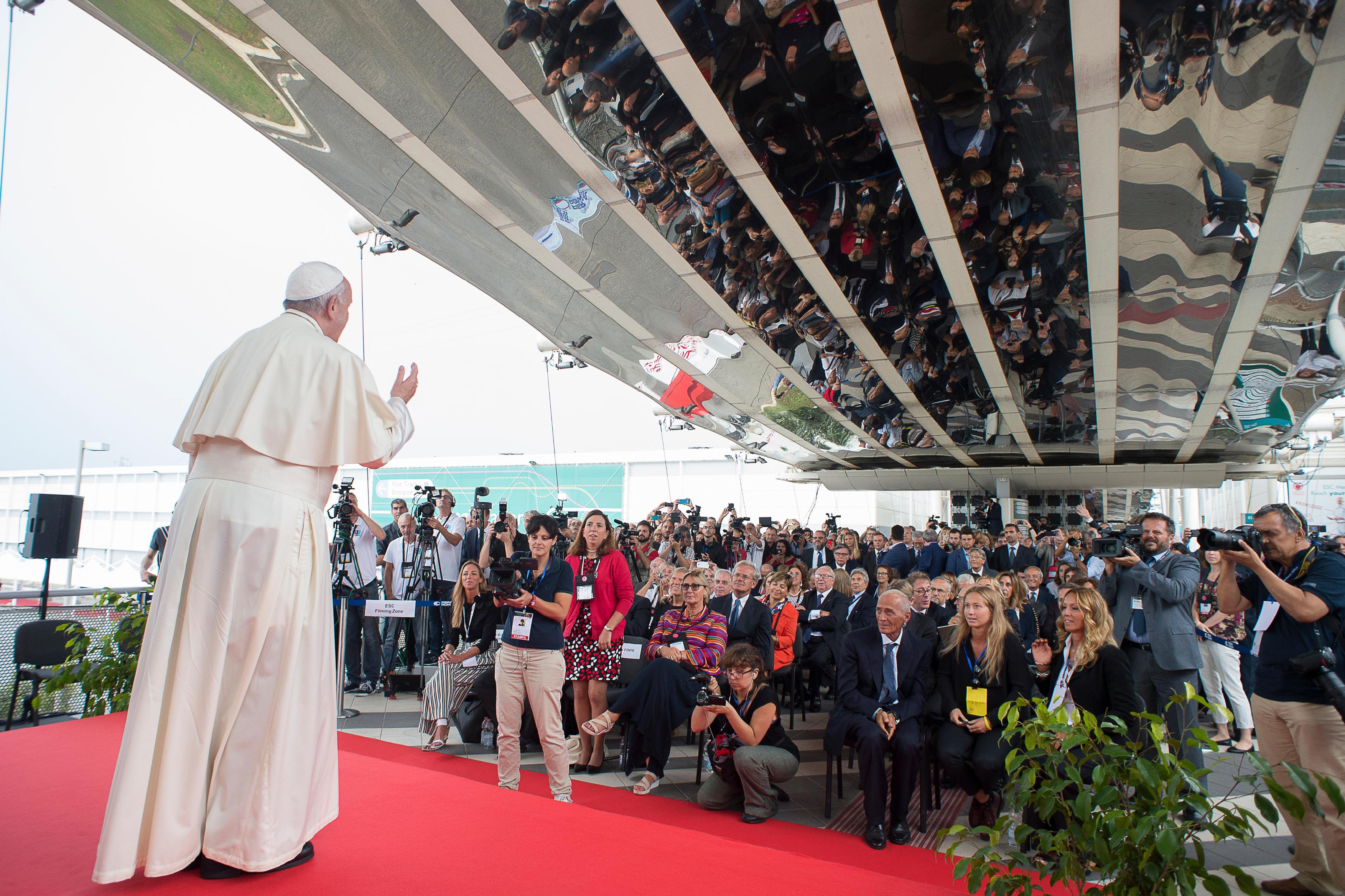 Le pape au Congrès mondial de cardiologie à Rome © L'Osservatore Romano
