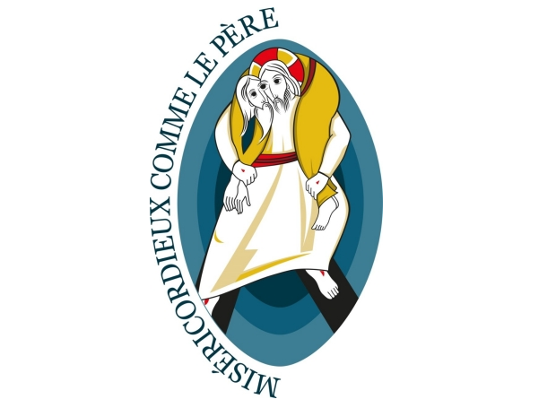 Logo du Jubilé de la miséricorde, par le p. M.I. Rupnik SJ