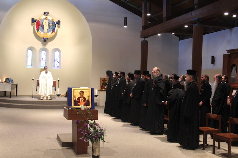 XXIVe Colloque oecuménique international de spiritualité orthodoxe © monasterodibose.it