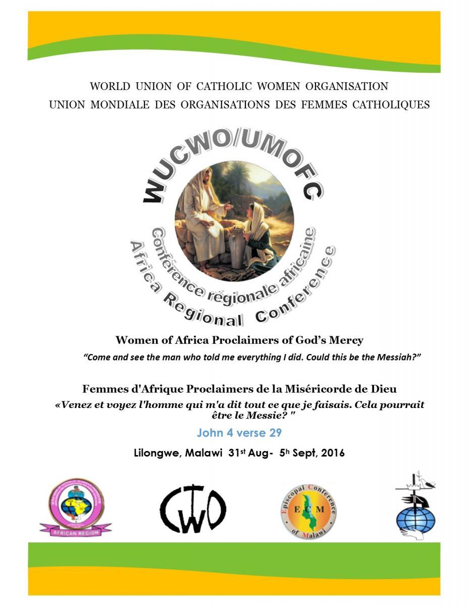 Poster de la rencontre du Malawi, wucwo.org