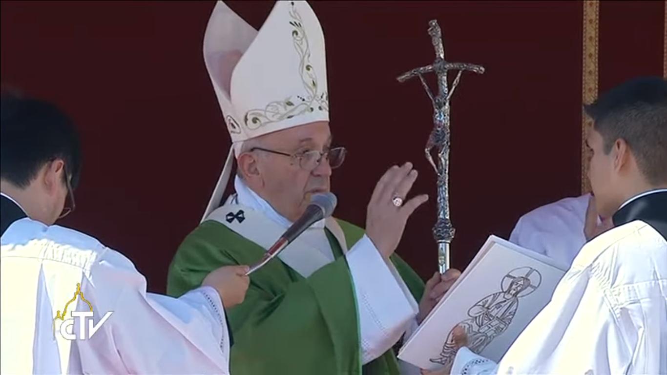 Jubilé des catéchistes, capture CTV