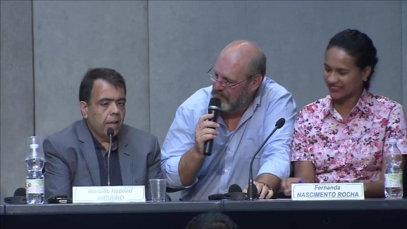 Marcílio Haddad Andrino (à gauche) et sa femme Fernanda Rocha Nascimento, Capture d'écran CTV