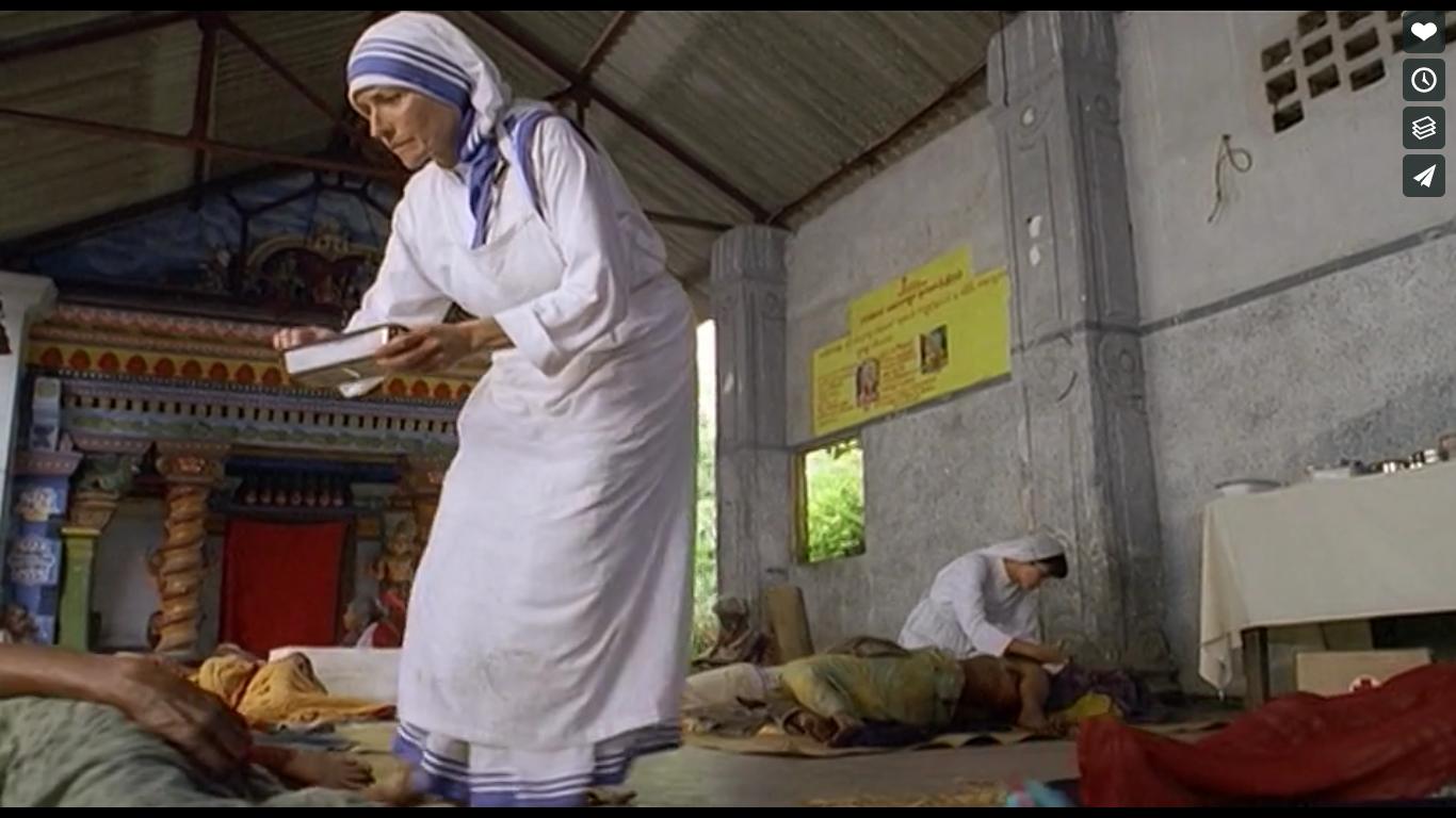 """""""Mère Teresa: une vie dévouée aux plus pauvres"""", capture (SAJE)"""