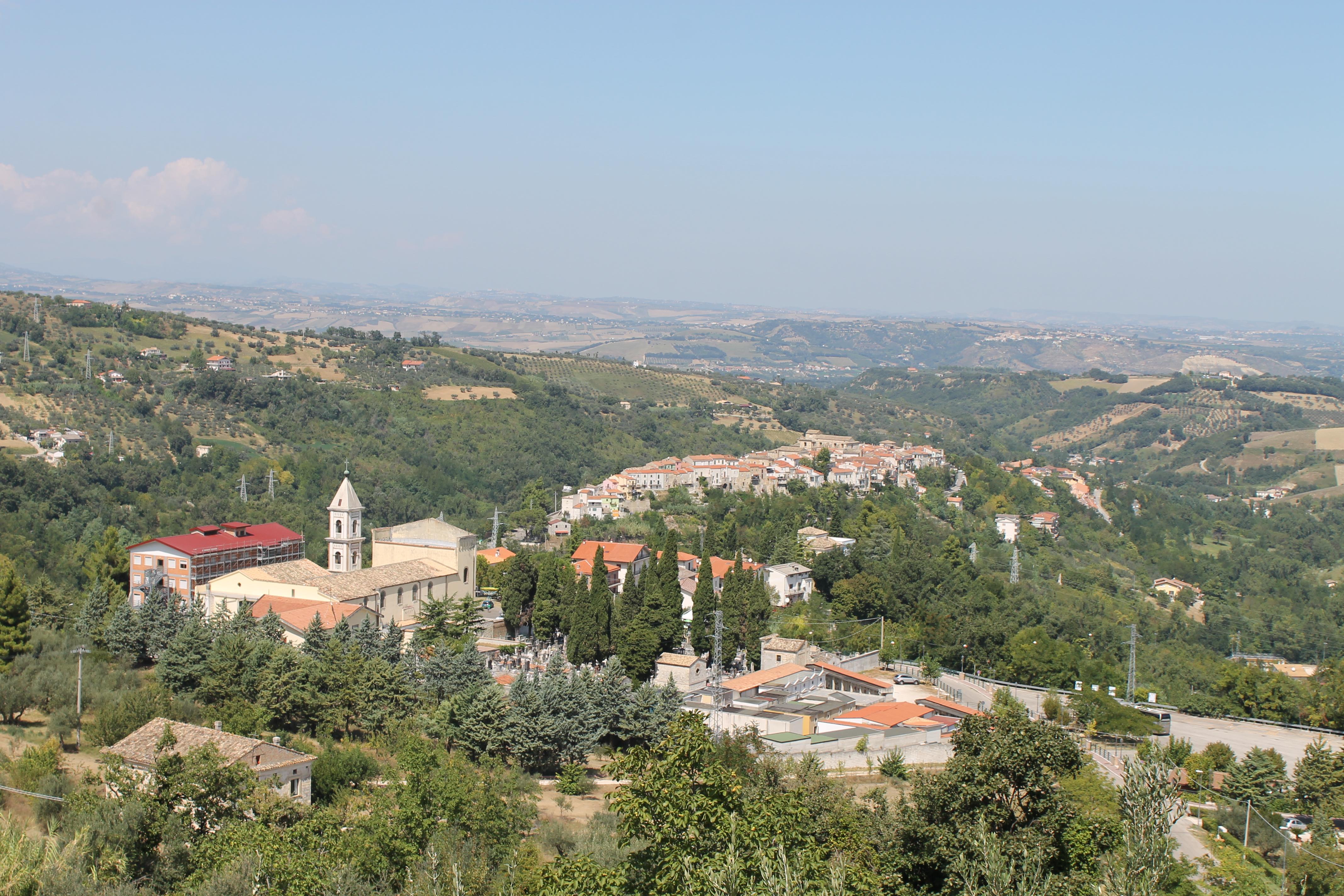 Sanctuaire de la Sainte-Face de Manoppello (Italie) © Anita Bourdin