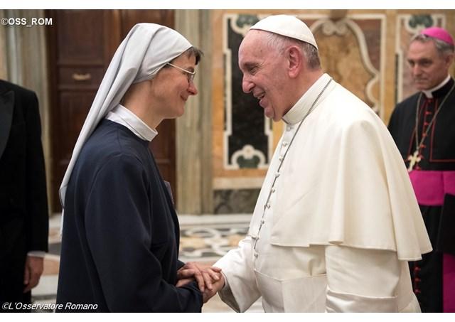 Rencontre des Bénédictins 8 sept. 2016 © L'Osservatore Romano