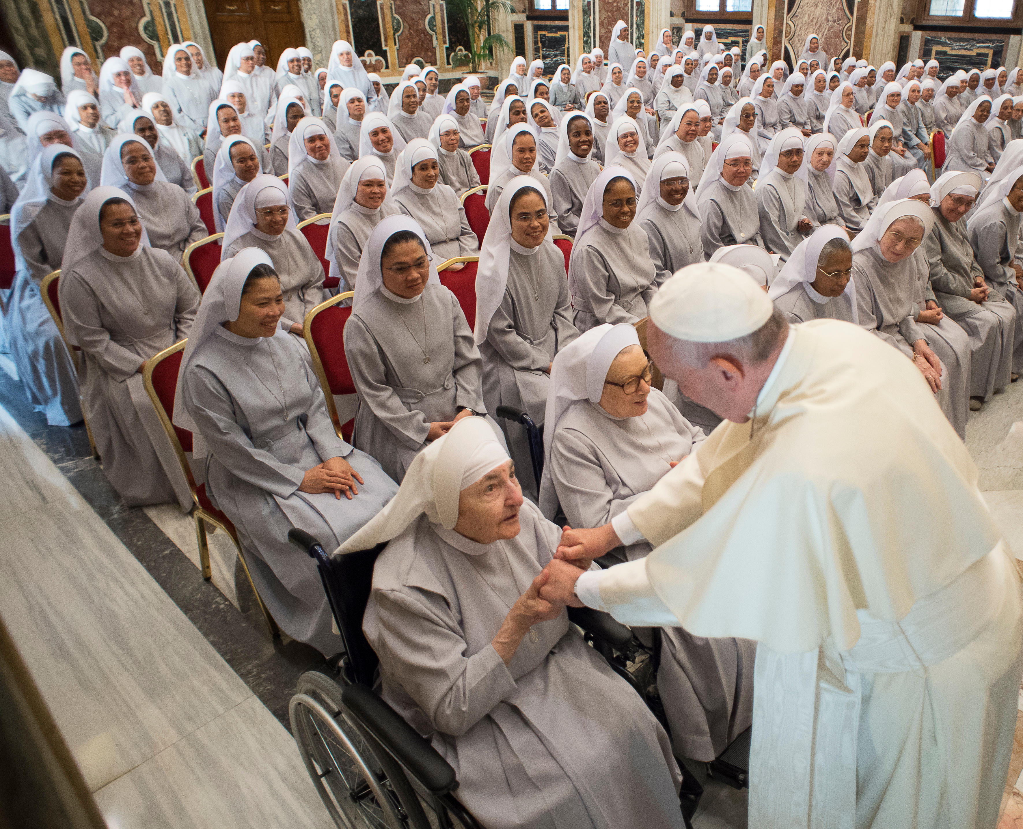 Soeurs de la miséricorde, 24 sept. 2016 © L'Osservatore Romano