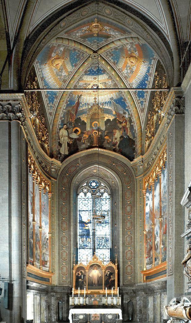 Chapelle polonaise de la basilique de Lorette (Italie) © santuarioloreto.it