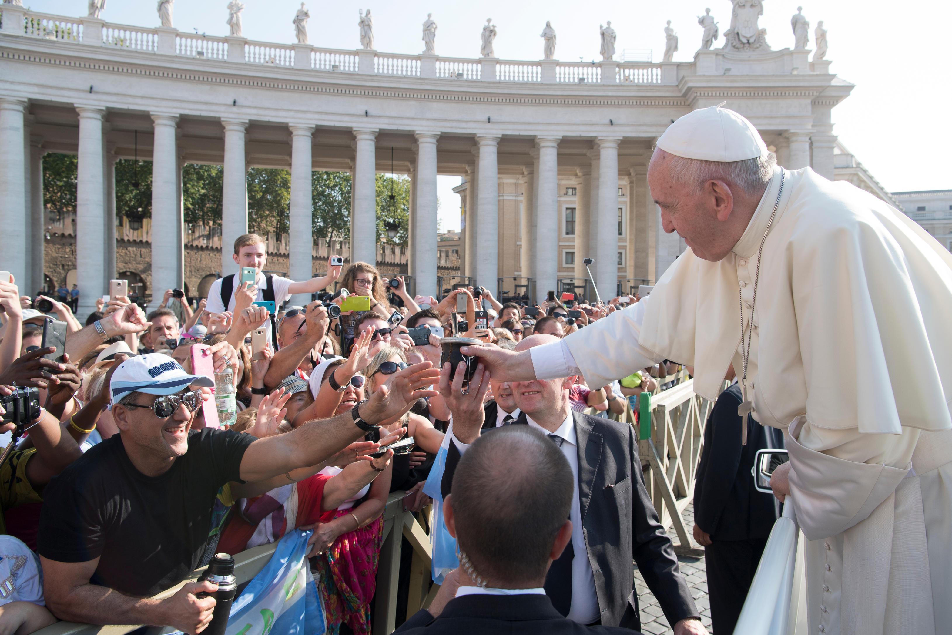 Audience générale du 14 septembre © L'Osservatore Romano