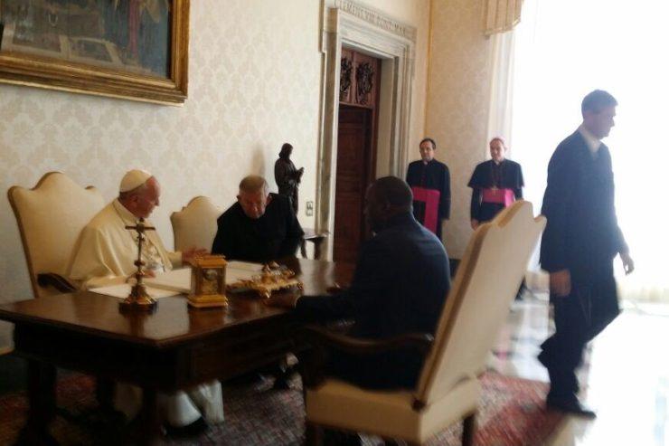 RDC, le président Kabila au Vatican © Il Sismografo