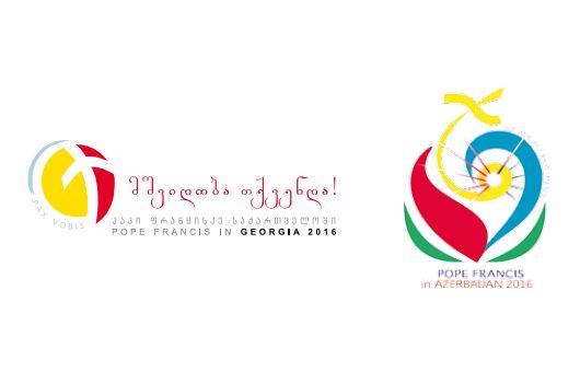 Logos du voyage en Géorgie et Azerbaïdjan