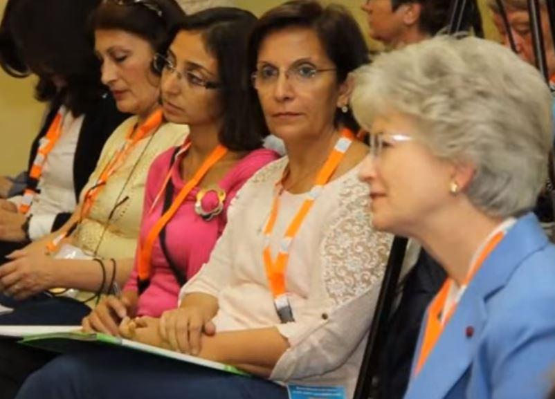 Conférence des Femmes du Moyen-Orient, capture UMOFC