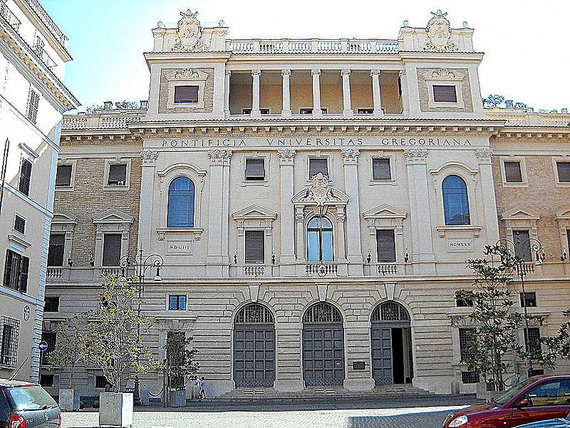 Université pontificale grégorienne @ Wkimedia commons / Gobbler