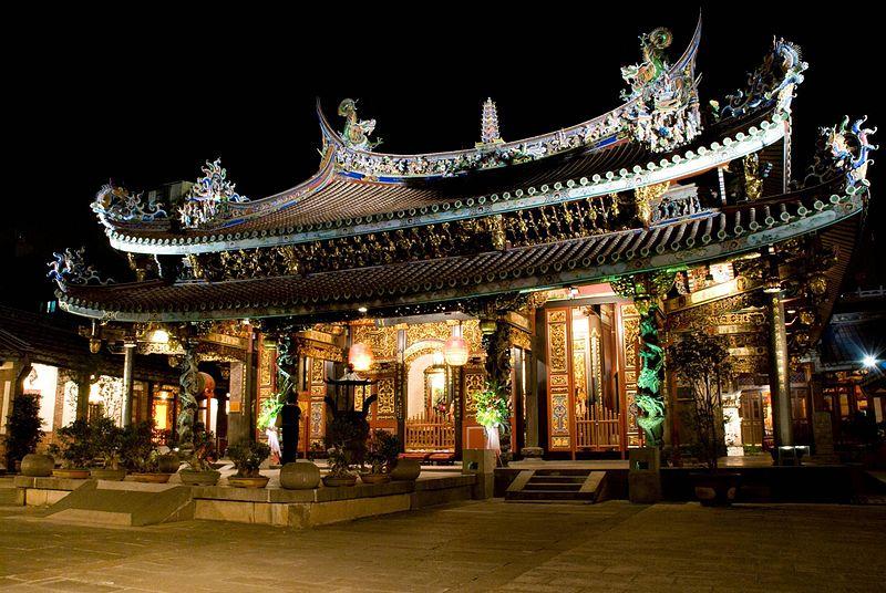 Temple Baoan de Taipei © Wikimedia Commons / Meiguoren