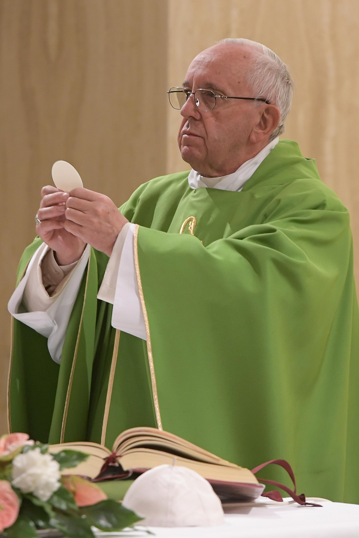 Eucharistie, Sainte-Marthe @ L'Osservatore Romano