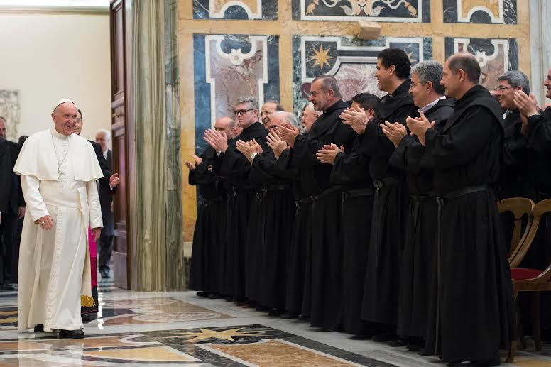 Audience aux Augustins récollets © L'Osservatore Romano