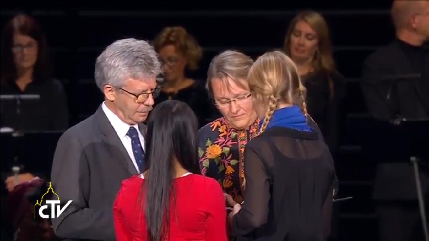Michel Roy (CI) et Maria Immonen (FLM), capture CTV