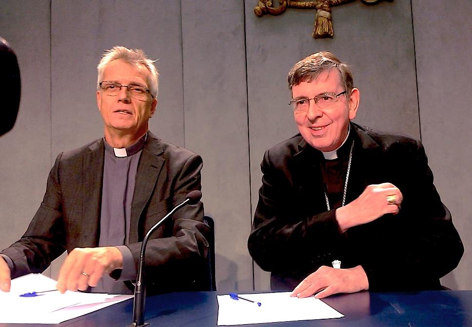 Le pasteur Martin Junge et le cardinal Kurt Koch @ Zenit
