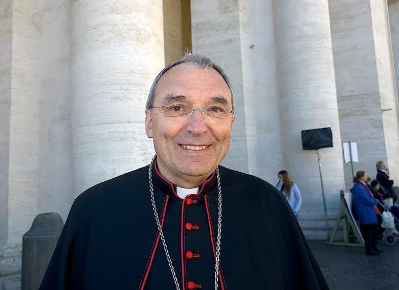 Mgr Laurent Dognin © HSM - Zenit
