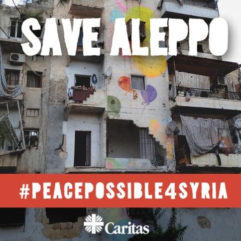 Sauver Alep, campagne de Caritas Internationalis
