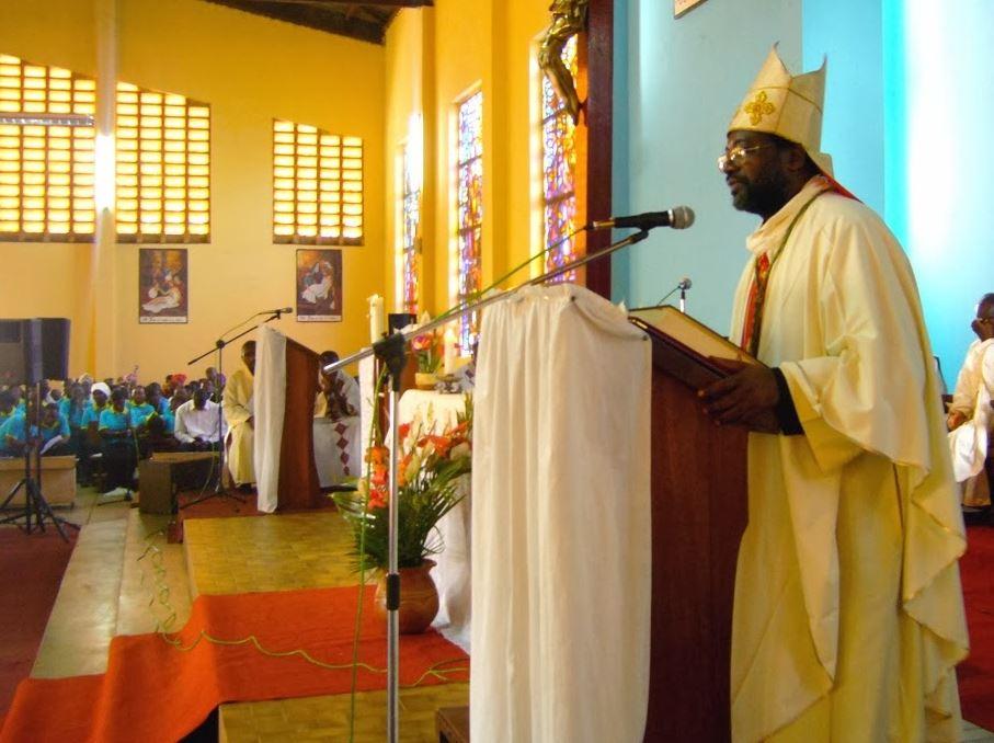 Mgr Faustin Ambassa Ndjodo © Eglise de Batouri