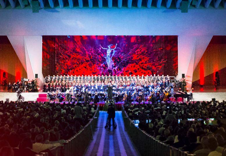 Ennio Morricone, concert salle Paul VI @ concertoperlacarita.org