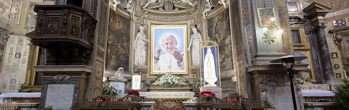 Eglise du Saint-Esprit de Rome, http://www.divinamisericordia.it/