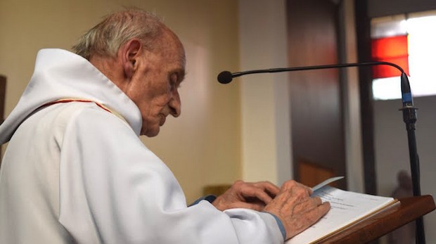 Père Jacques Hamel, courtoisie du diocèse de Rouen, http://rouen.catholique.fr