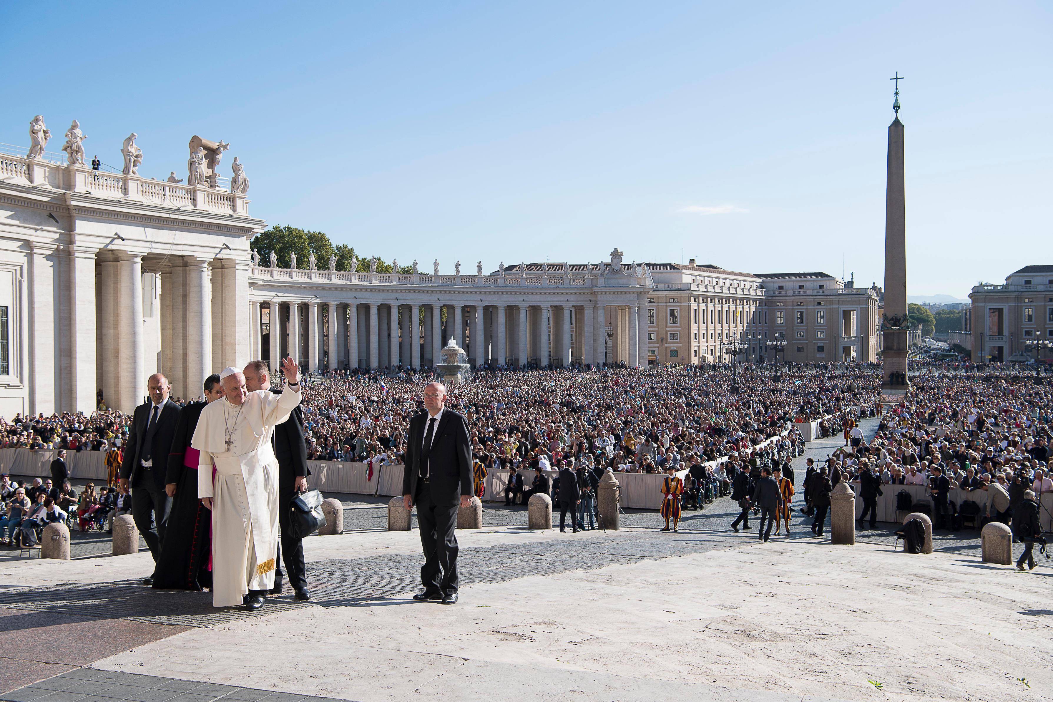 Audience générale du 5 octobre 2016 @ L'Osservatore Romano