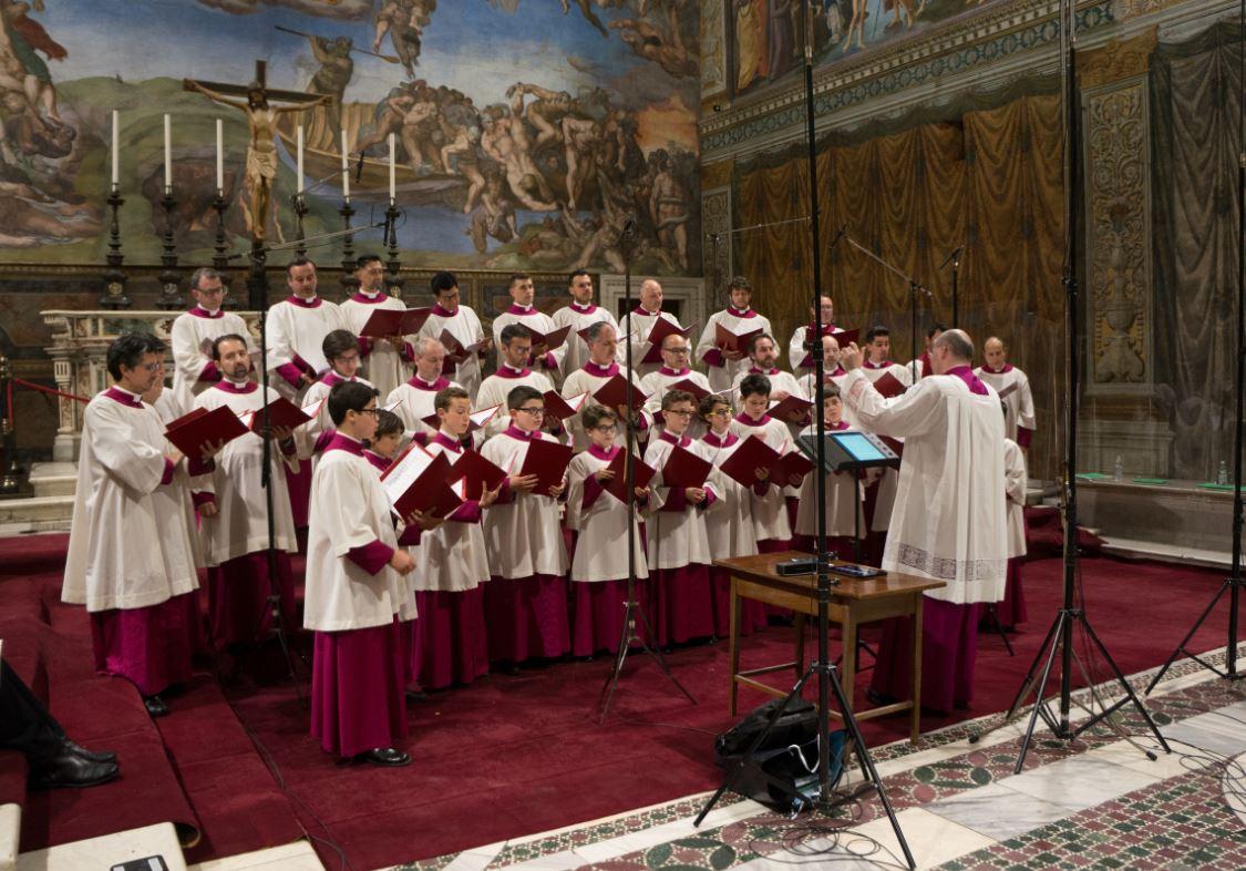 Choeur de la chapelle Sixtine © Burkhard Bartsch / Gouvernorat SCV, Musées du Vatican