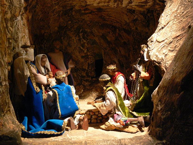 Crèche de Noël © Wikimedia Commons/Andreas Praefcke