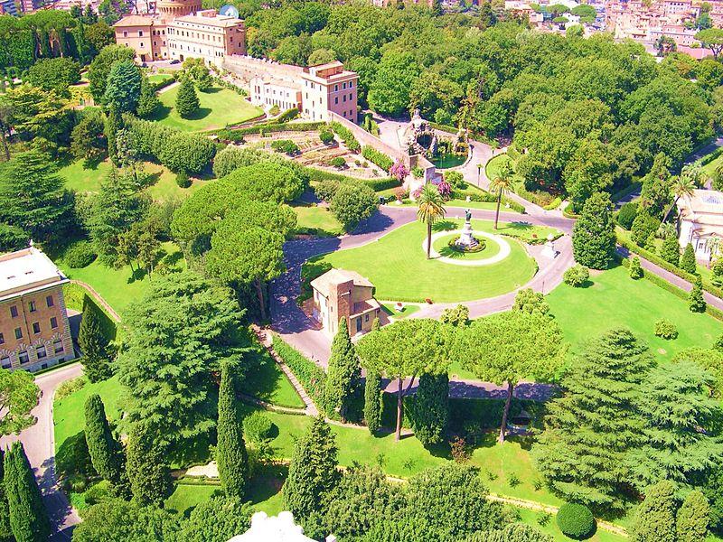 Jardins du Vatican © Wikimedia Commons/Marek69