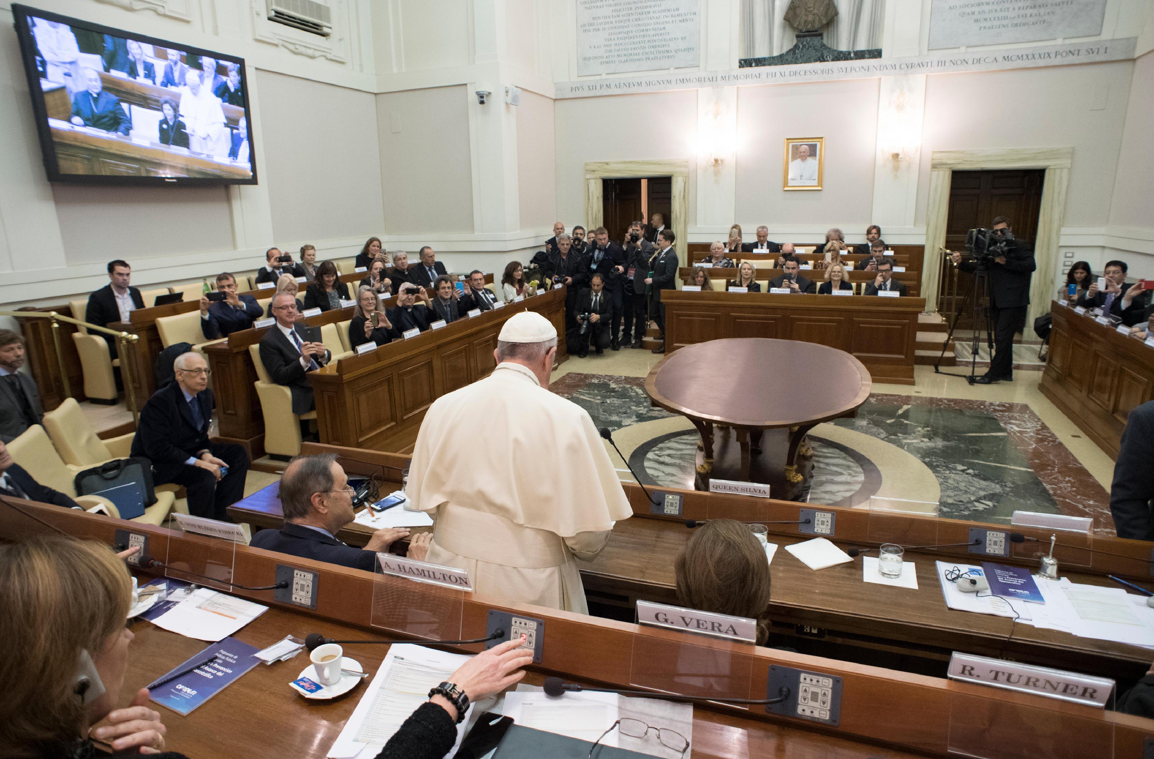 Congrès sur les drogues à l'Académie des sciences (Casina Pio IV) © L'Osservatore Romano