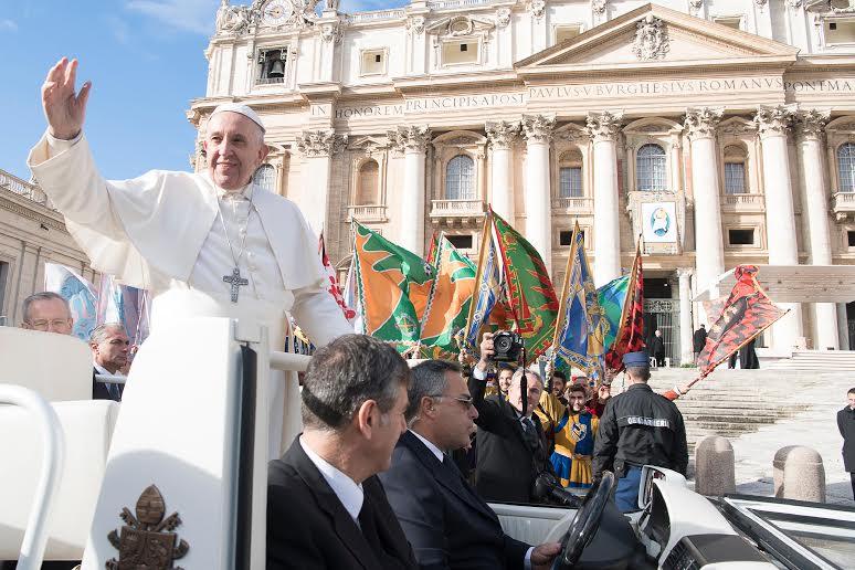 Audience jubilaire du 12 nov. 2016 © L'Osservatore Romano