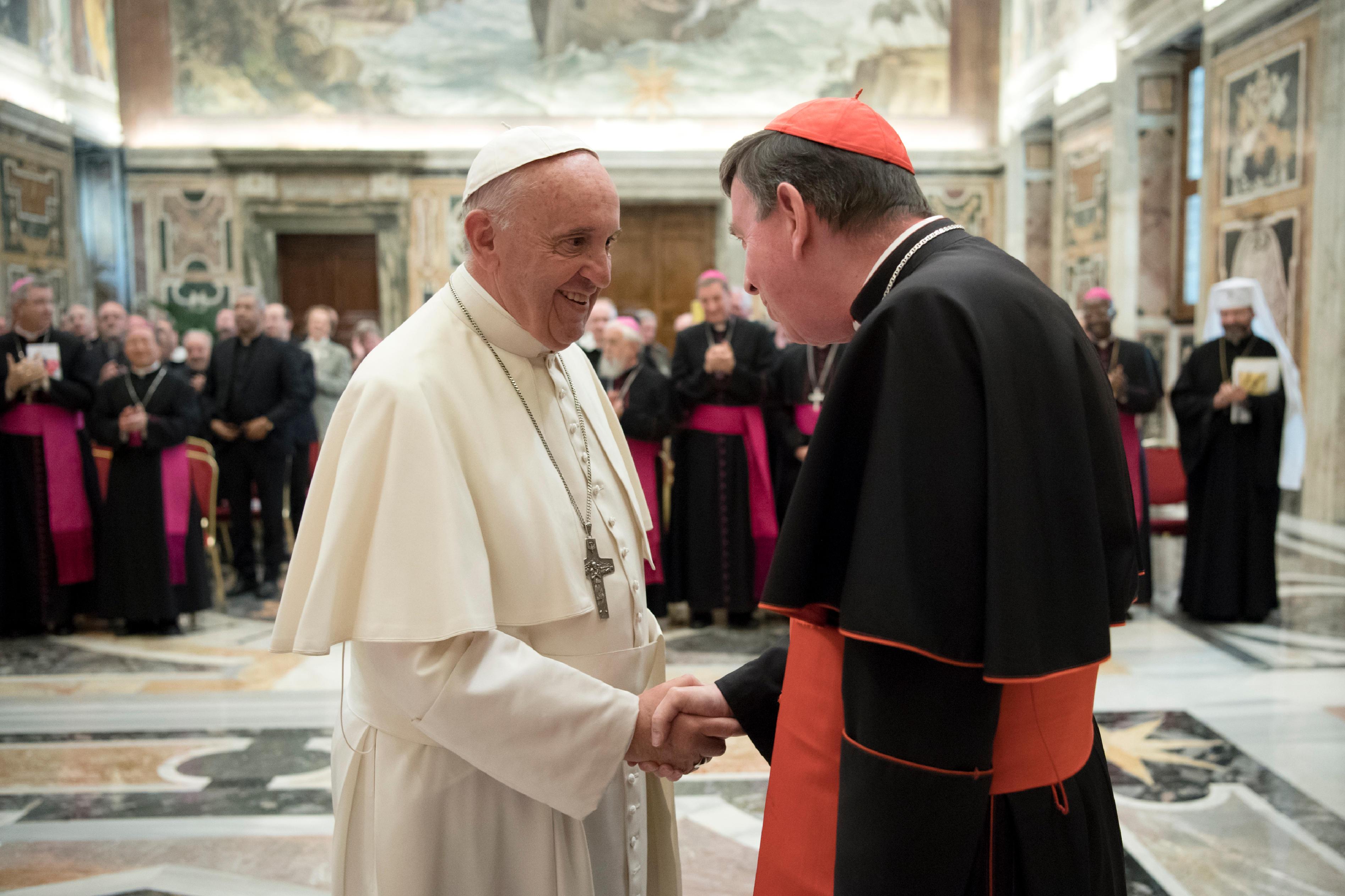 Le pape et le cardinal Koch © L'Osservatore Romano
