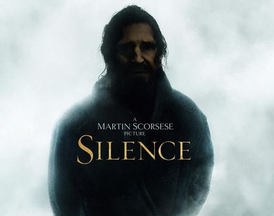 "Affiche du film ""Silence"" de Scorsese"