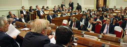 Rencontres des maires, Casina Pio IV, décembre 2016, courtoisie de la Casina