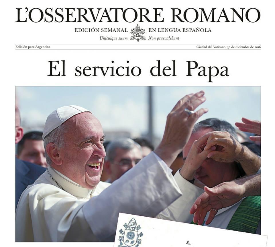 Facebook © L'Osservatore Romano - Edicion Argentina