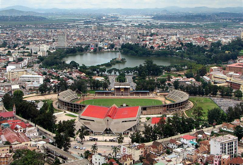 Stade Mahamasina, Antananarivo, Madagascar © Wikimedia Commons / Bernard Gagnon