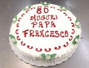 Anniversaire du pape © caritasroma.it