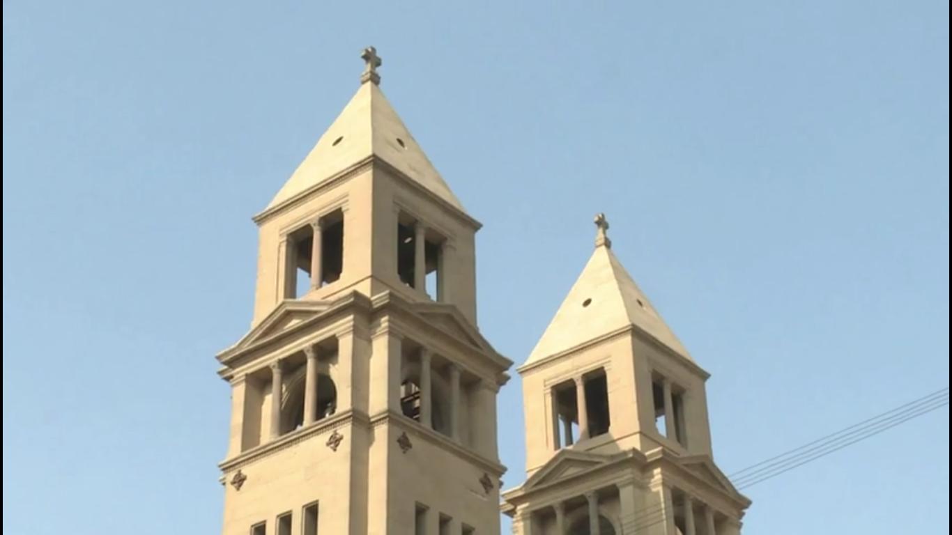 Attentat dans une église du Caire, en pleine célébration, 11 dé. 2016, capture