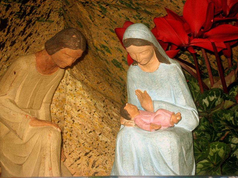 Sainte Famille, crèche © Wikimedia Commons / MarisaLR