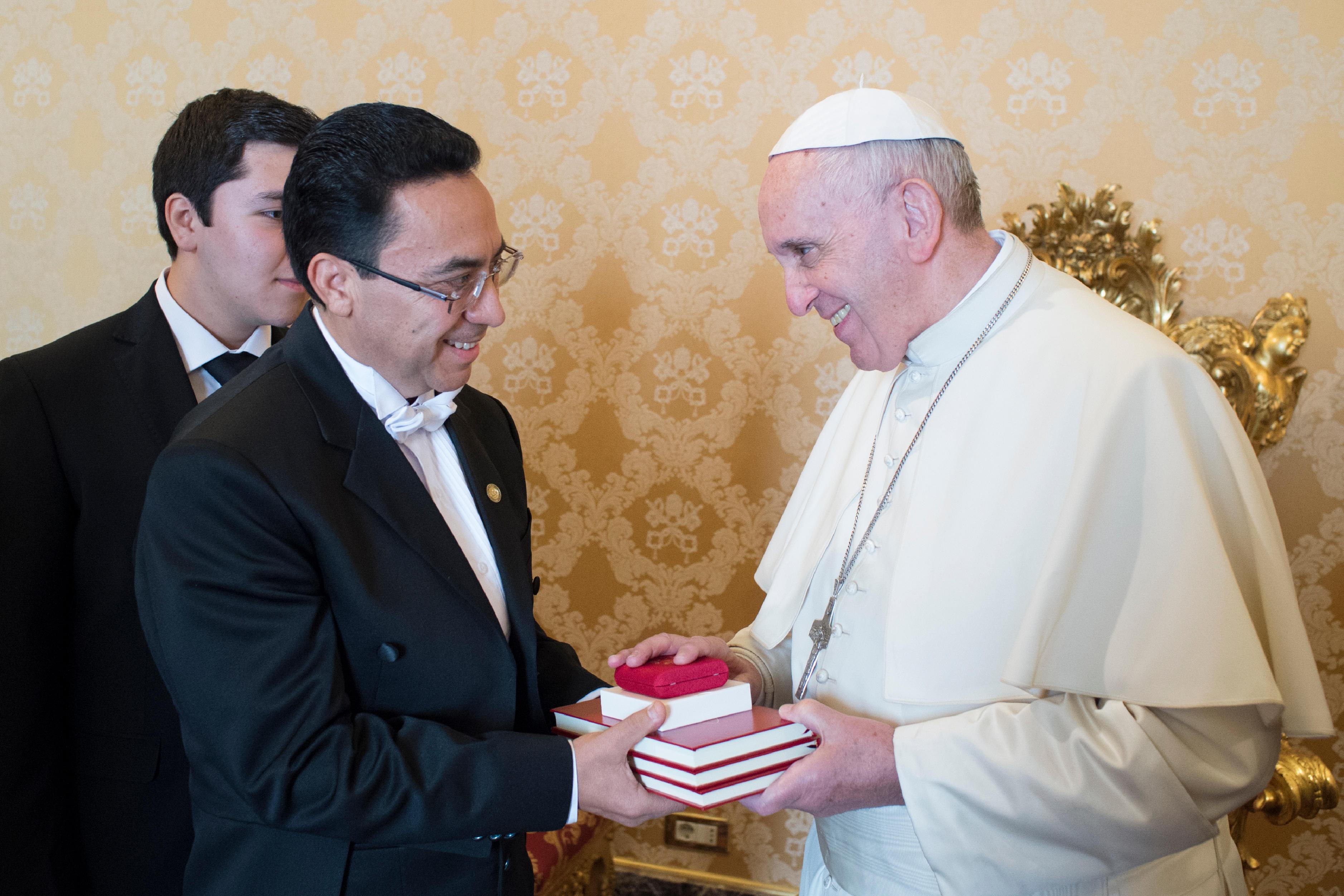 Alfredo Vásquez Rivera, ambassadeur du Guatemala © L'Osservatore Romano