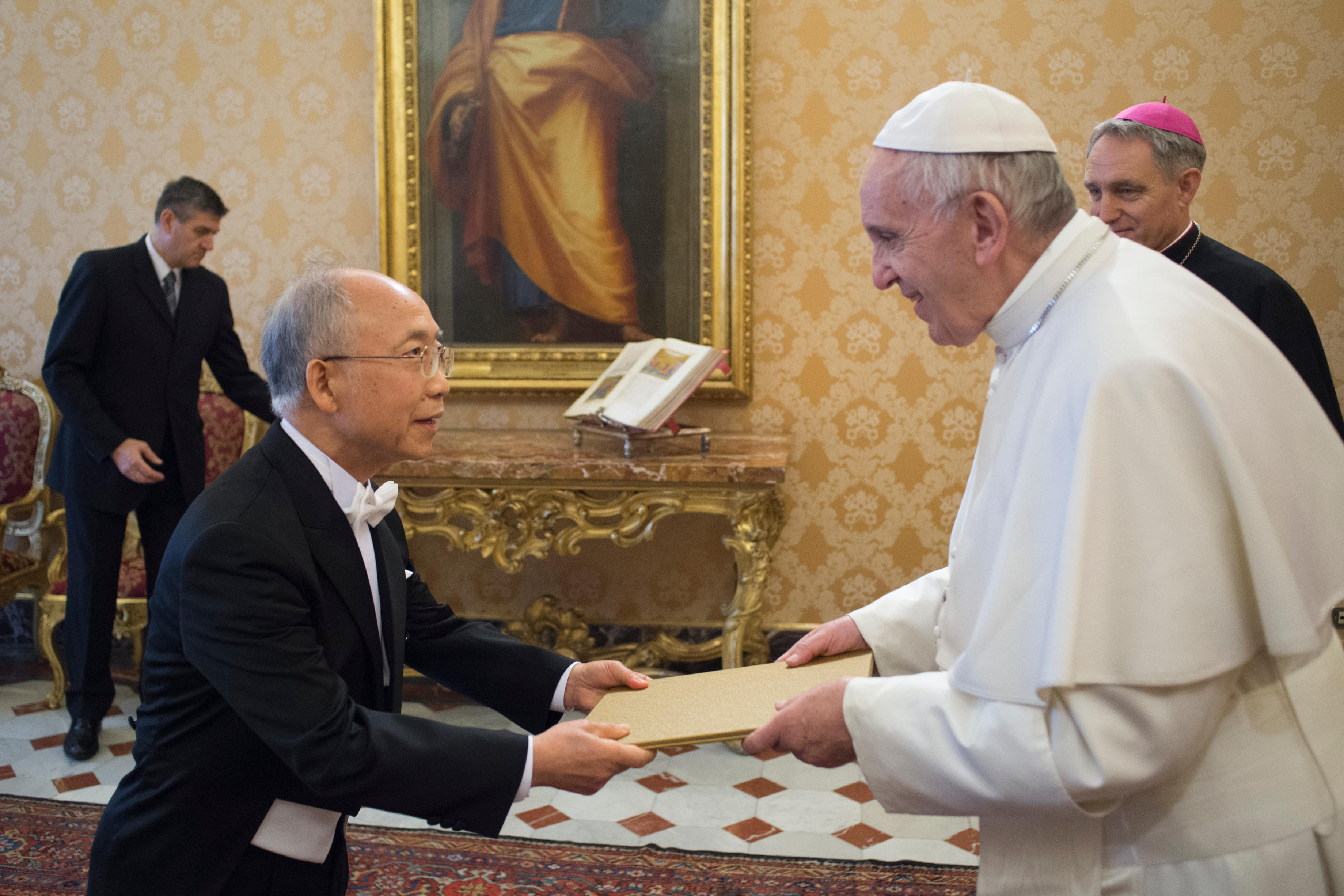 Jonghyu Jeong, ambassadeur de Corée près le Saint-Siège © L'Osservatore Romano
