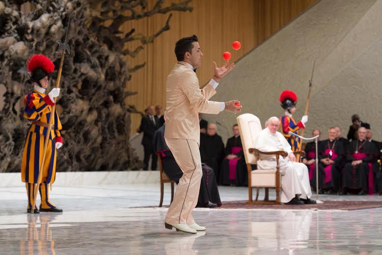 Golden Circus, audience du 28 déc. 2016 © L'Osservatore Romano