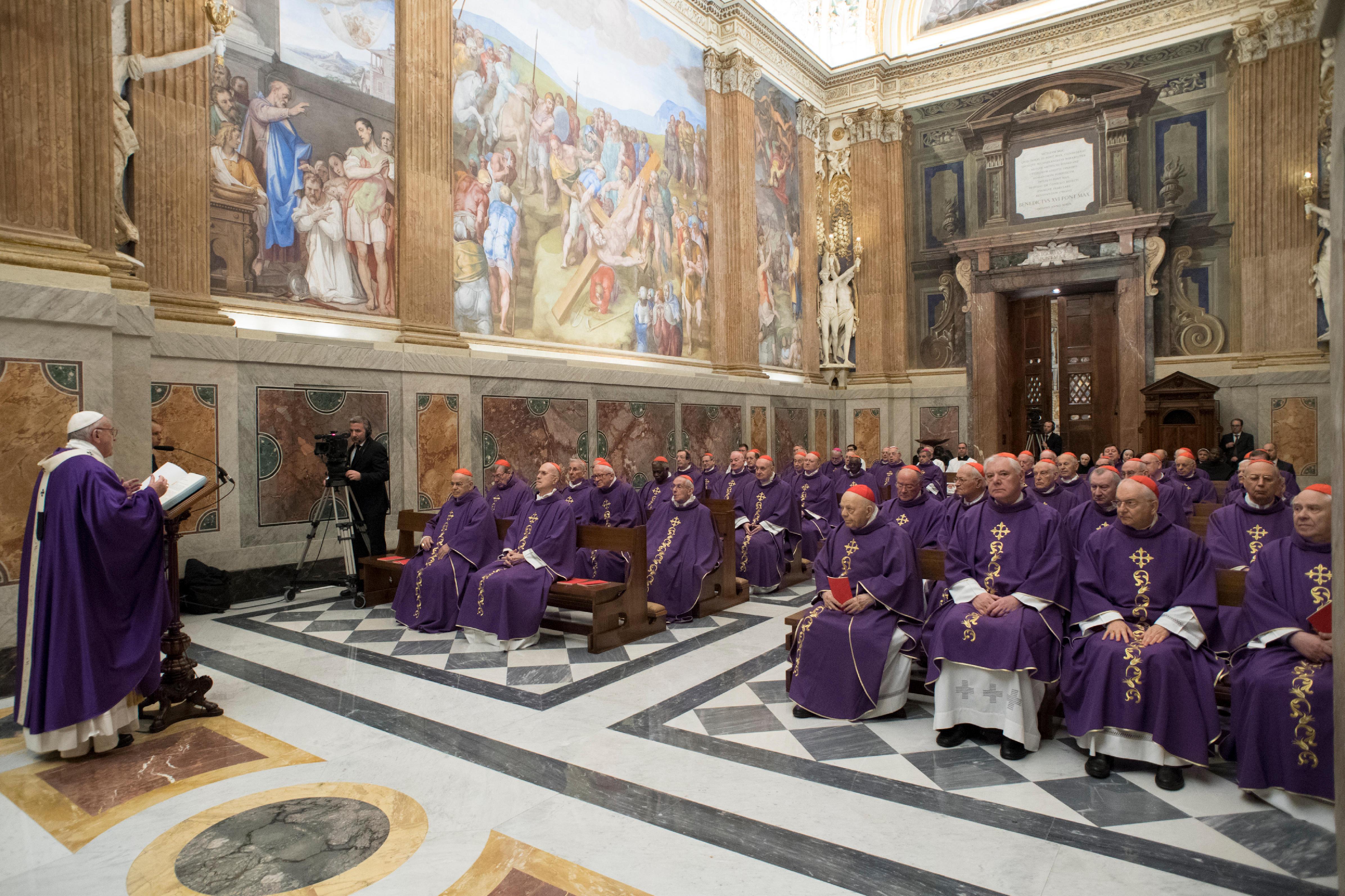 Messe pour les 80 ans du pape © L'Osservatore Romano