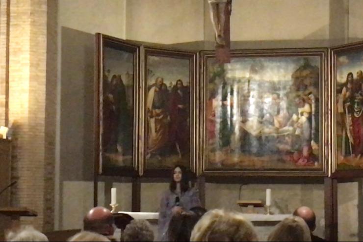 Concert d'Eliyo au Vatican, photo de Deborah Castellalo Lubov (Zenit)